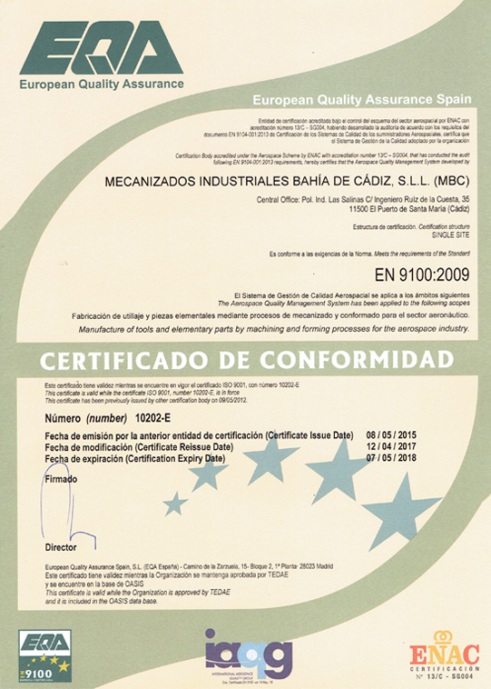 ISO-9100-2009