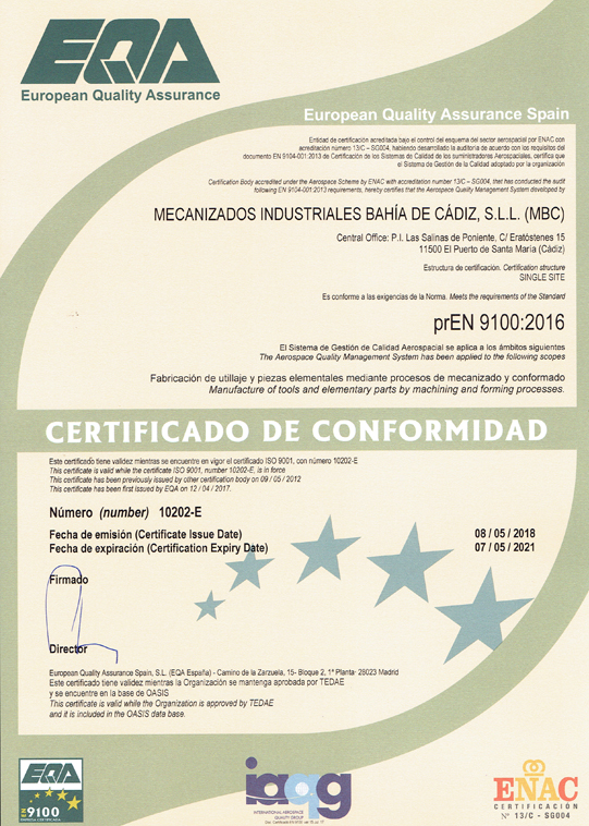 ISO-9100-2016